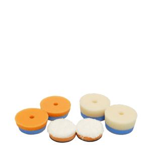 CarPro Mini polishing pads 2*microfiber/2*cutting/2*gloss