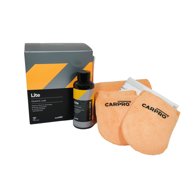 CarPro C-Quartz Lite kit 150ml Easy to use lakverzegeling