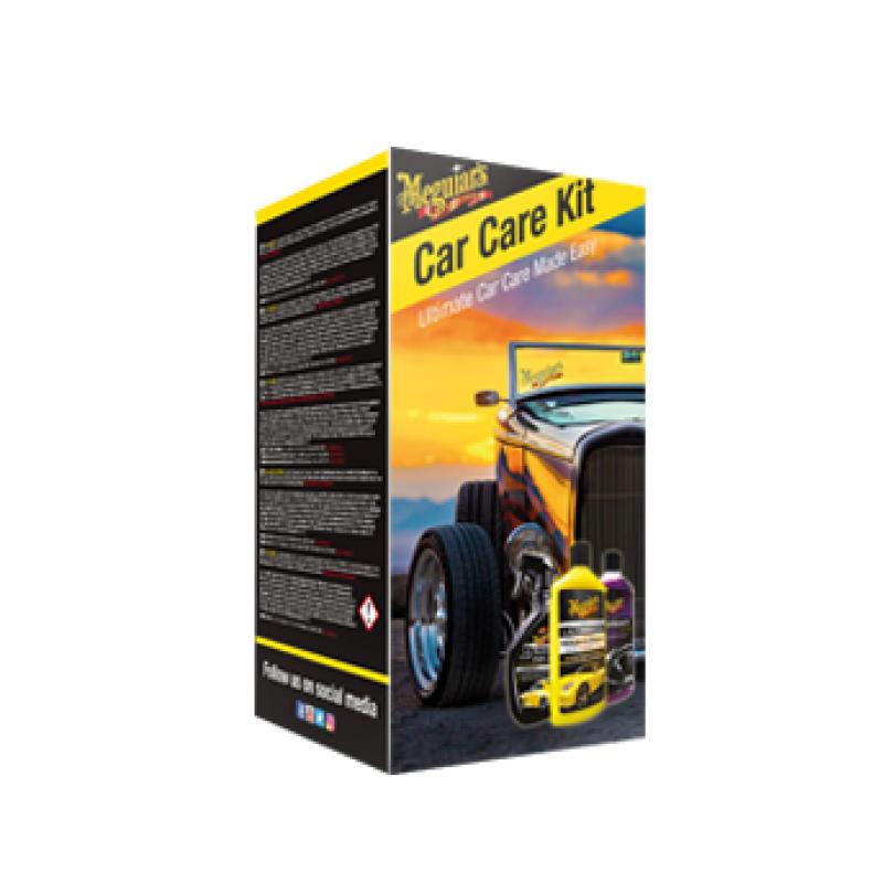 Meguiar's Car Care Kit Dé kit met producten om de auto in topstaat de houden!