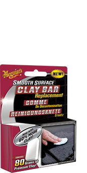 Meguiar's Smooth Surface Clay Bar Replacement Voor een perfect resultaat