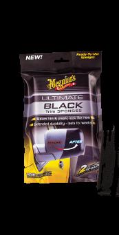 Meguiar's Ultimate Black Sponges Ulimate Black sponsjes voor plastic en rubber