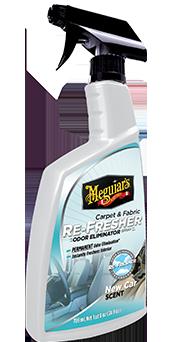 Meguiar's Carpet & Cloth Re-Fresher Odor Eliminator Verwijder ongewenste geuren