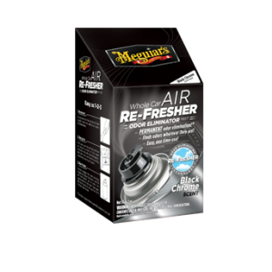 Meguiar's Air Refresher : Odor Eliminator Black Chrome Verfris de auto