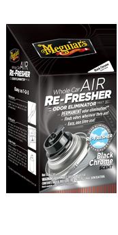Meguiar's Air Refresher : Odor Eliminator Black Chrome Verfris de auto