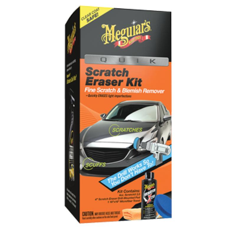 Meguiar's Quik Eraser Kit Snel krasjes en swirls verwijderen