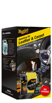 Meguiar's Leather & Carpet Detailing Kit