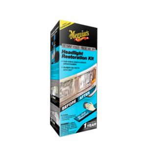 Meguiar's Perfect Clarity Headlight Restoration Kit Herstel doffe en vergeelde koplampen in 2 gemakkelijke stappen
