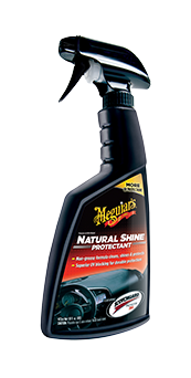 Meguiar's Natural Shine Vinyl & Rubber Protectant Herstelt de orginele finish