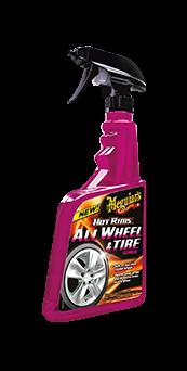 Meguiar's Hot Rims All Wheel & Tire Cleaner Voor velgen én banden