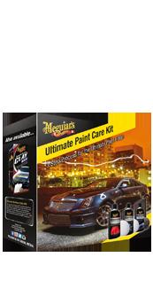 Meguiar's Ultimate Paint Car Kit Met deze 3 stappen kan autolak hersteld en beschermd worden.