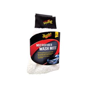 Meguiar's Microfibre Wash Mitt Houd vuil vast dankzij microvezel structuur