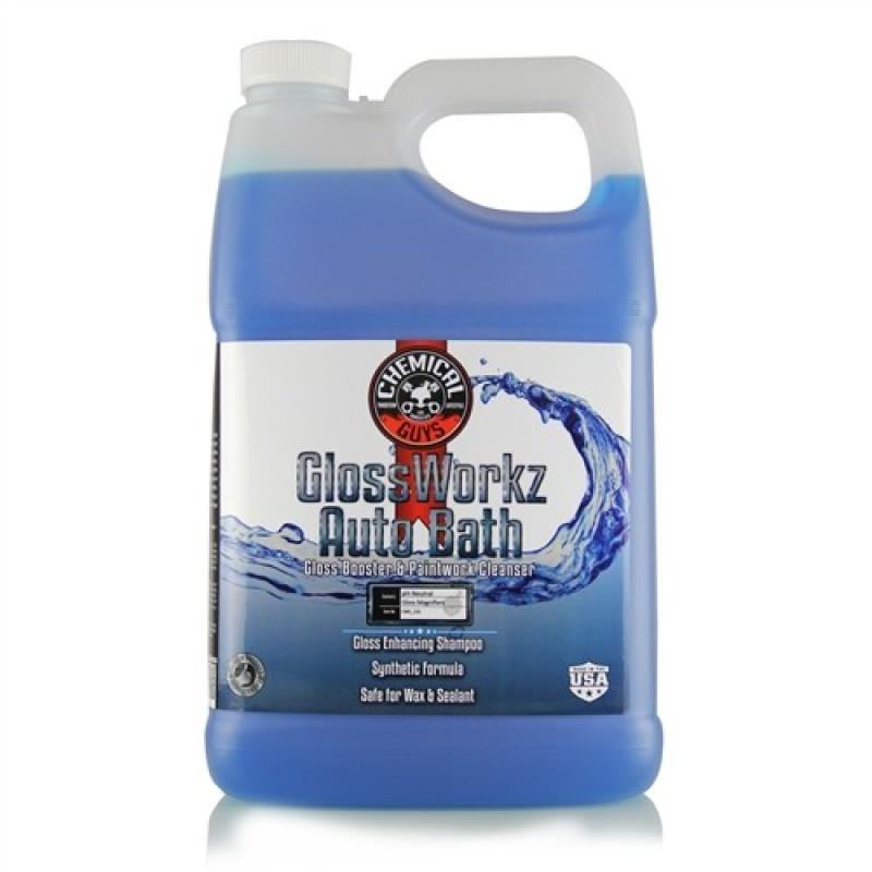 Chemical Guys GlossWorkz Auto Bath Gallon Wanneer je meer glans wil bereiken na het wekelijkse wassen