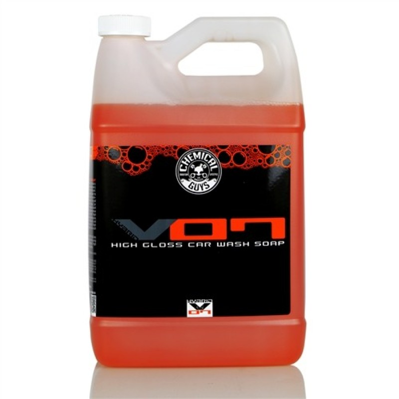 Chemical Guys Hybrid V07 Car Wash Soap Gallon Chemical Guys Hybrid V7 High Gloss Car Wash Soap is een gerafineerde autoshampoo met een superieur reinigend vermogen.