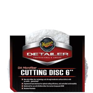 """Meguiar's DA Microfribe cutting pad 6"""""""